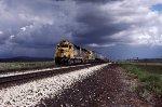 ATSF 5368 Rolls West.