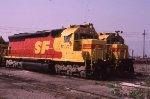 ATSF 5357 and 8105