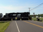 Train Hits Kenworth