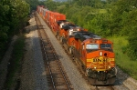 BNSF 7680 West