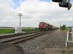 CP Rail X534 heads east at Byron Road