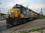 My last shot of CSX in Manistee