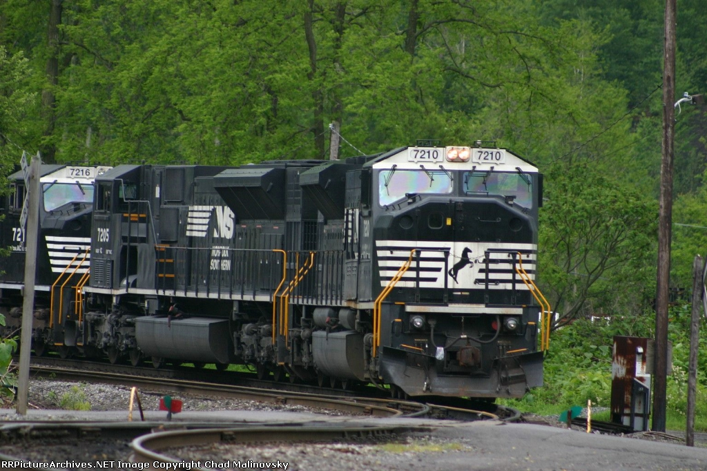 NS 7210 farts around in the yard
