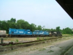NS 1447 & 5326 in Conrail Blue