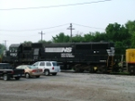 NS SD60 6563 & UP paint