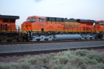 BNSF 7856 rolls west with BNSF 7855 as they pull into the East BNSF Barstow yard.