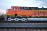 BNSF 7855 passes me by in this blurred shot?