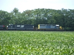 CSX 8830 (SD 40-2) and NS 1701 (SD 45-2)