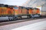 BNSF 7849 to the left of the shot and BNSF 7850 as the #3 unit roll south with a Z train.