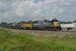CSX W863 military train
