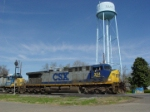 Towering above CSX 354