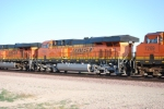 BNSF 7802 rolls west by me sandwiched between BNSF 7612 and BNSF 7269.