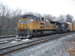 UP # 8524 (SD 70 ACe) and NS #7573 (ES40DC)