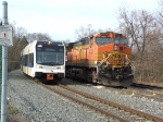 BNSF #4329 (9-44CW)  NJT #3514 (LRV)