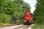 CN local on RICKETY track
