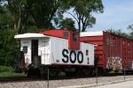 ... and a pristine Soo Line caboose