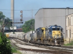 CSX 8209 & 7712 get Q334-01 underway eastward