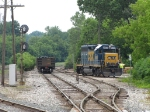 Y221 starts down the spur to Haviland Chemical