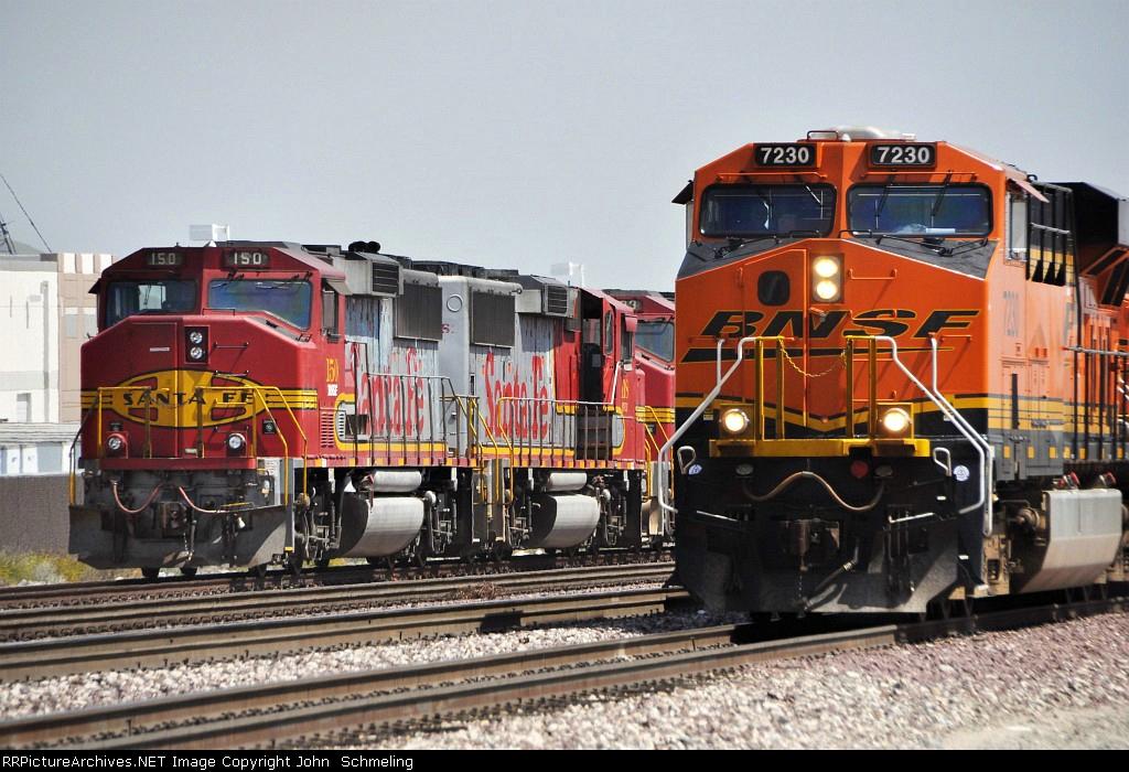 BNSF 7230 & 150
