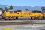 UP 2466 (SD60M) West Colton CA. 11/5/2013