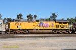 UP 5987 (AC44CWCTE) West Colton CA. 1/16/2011