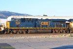 CSX #3080 (ES44AC-H) at Verdemont CA, BNSF Cajon Subdivision. MP 73.9. 7/3/2017