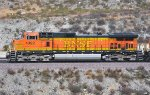 BNSF 4092 (C44-9W) at Blue Cut CA. 10/11/2009
