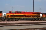 KCS 4691 (ES44AC) at San Bernardino CA. 10/18/2009