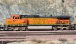 BNSF 4014 (C44-9W) at Blue Cut-Cajon Pass CA. 1/28/2010