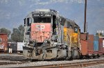 UP 2694 (SD40M-2) at West Colton CA. 1/28/2010