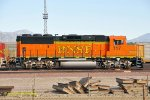 BNSF 117 (GP60M) at San Bernardino, CA. 1/25/2011