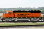 Freshly Painted BNSF GP60M #132