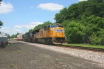 Union Pacific SD70M In Front of 212, LEHL MP 76 @ 1133 hrs