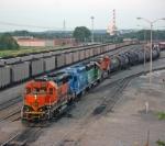 BNSF 3202 Transfer Job