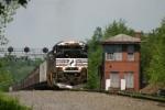Coal loads pass AR tower