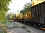 Rail unloader