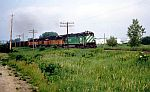 BN 5552 leads a bunch of ex-MILWAUKEE power