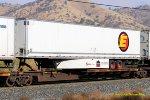 TTAX 553311-E with 53' ESTES trailer load Woodford-Tehachapi Pass CA. 11/17/2017