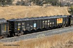 GNTX 295783 with spool wire load at Woodford-Tehachapi Pass CA. 11/14/2017