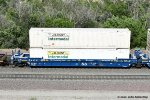 """FEC goes Blue"" FEC 74345-B with JB Hunt container load at Cajon CA. 6/16/2020"
