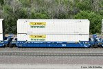 """FEC goes Blue"" FEC 74345-C with container load at Cajon CA. 6/16/2020"