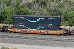 DTTX 646837 with two Amazon 53' containers at Cajon CA. 6/16/2020