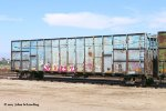 GBRX 934933 (ex GN wood chip car) Perris, CA. 9/30/2017