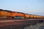 BNSF 6388 Heads east with a loaded Coal train