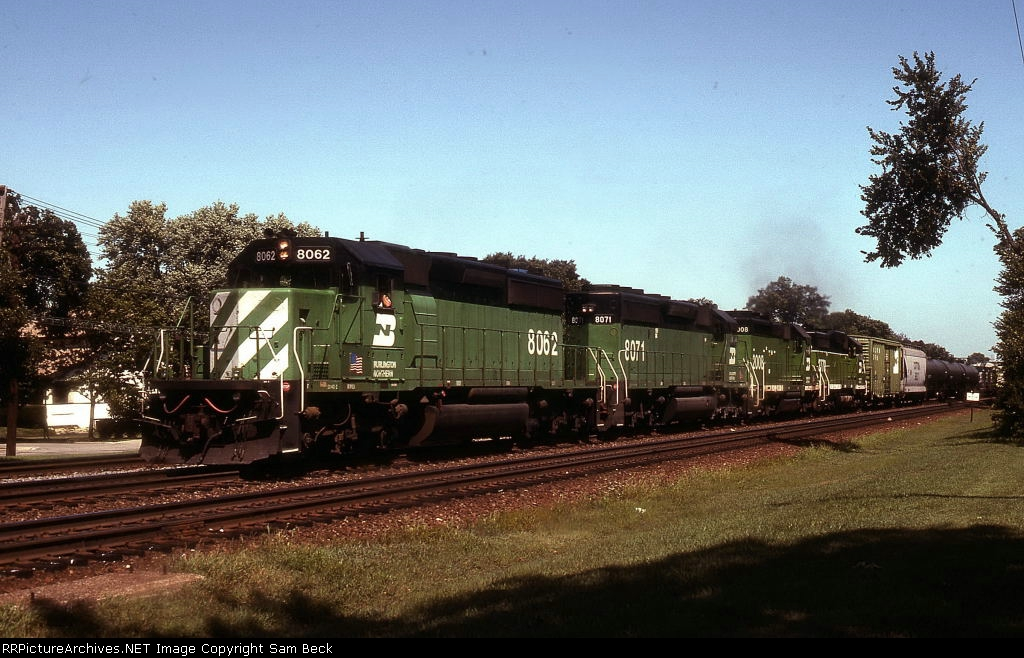 BN 8062, 8071, 2008, and 2770