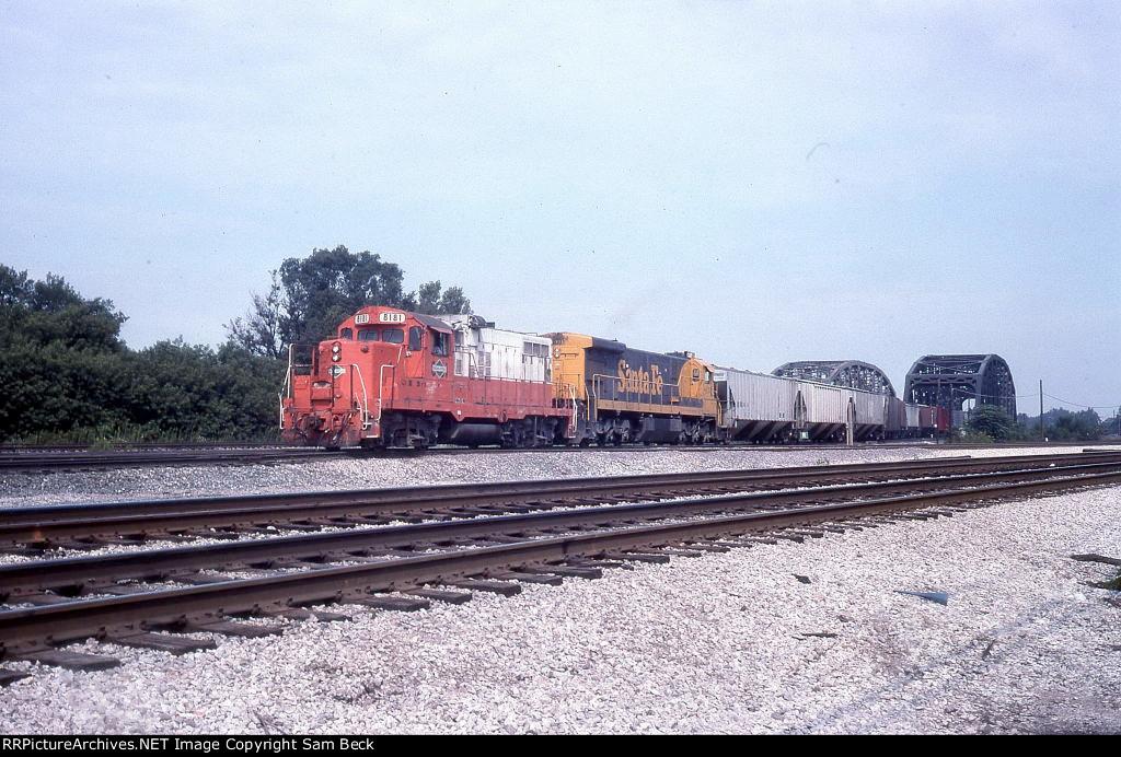 CCP 8181 and ATSF 8134