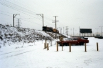 South Shore Freight in the Snow
