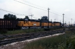 UP 3794, 3727, and CNW 6908 Eastbound