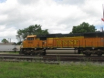 BNSF 9943 on CP #811 in Winona, MN. on 6/23/2010.