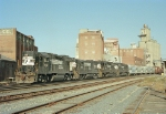 NS GP38-2 5221, NS U23B 3911, NS SD40-2 3232, NS SD40 3175